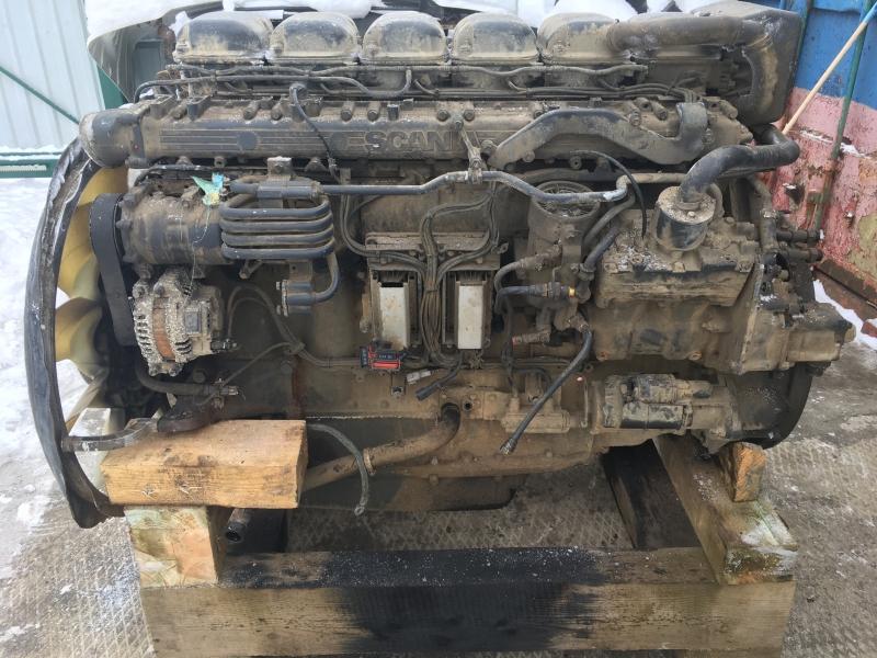 Двигатель Скания Scania