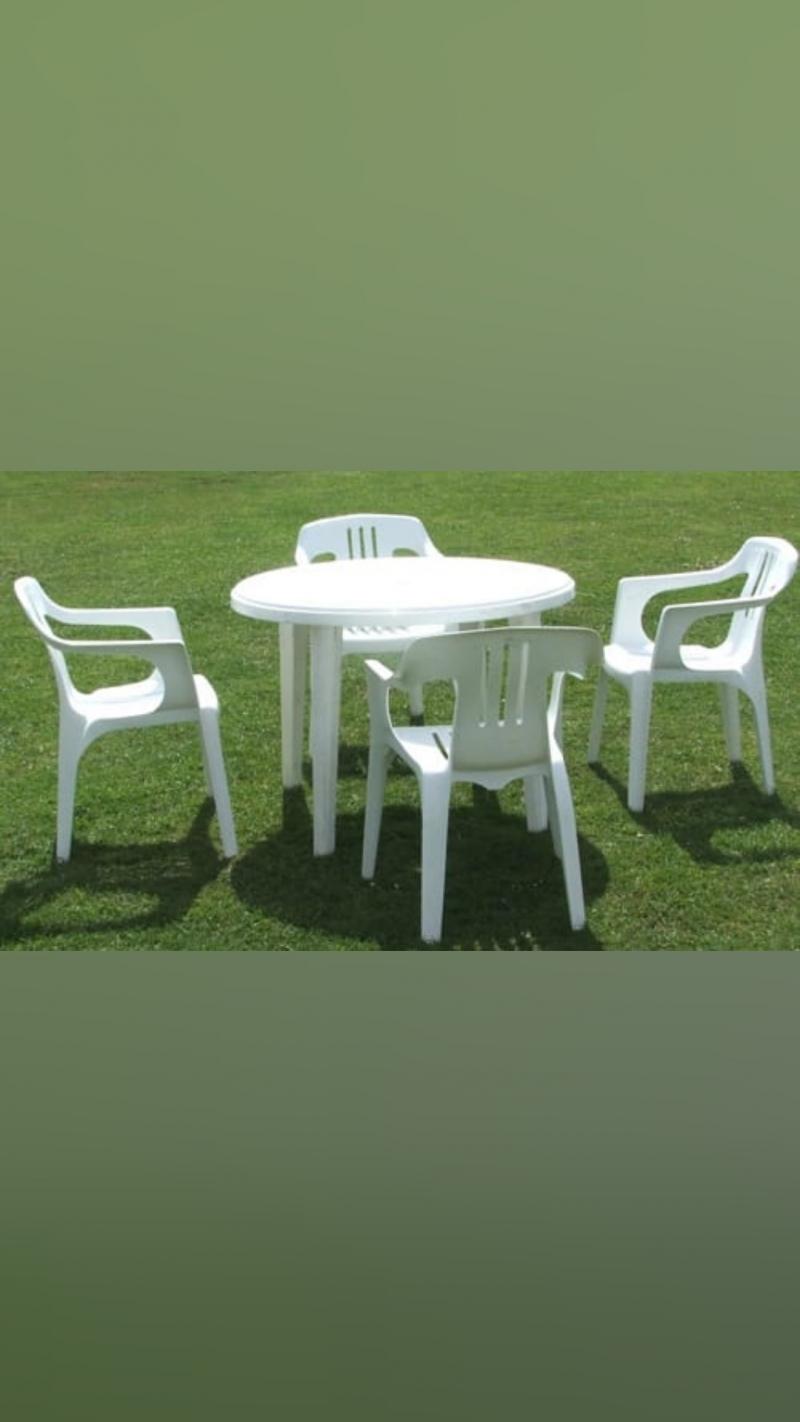 Прокат столов и стульев.